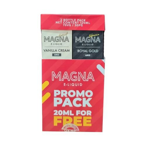 Líquido Royal Gold / Vanilla Cream (PROMO PACK) - Magna