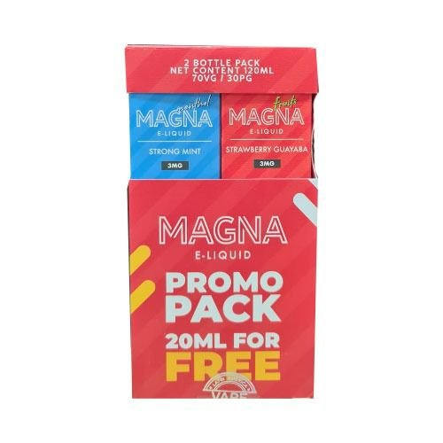 Líquido Strong Mint / Strawberry Guayaba (PROMO PACK) - Magna