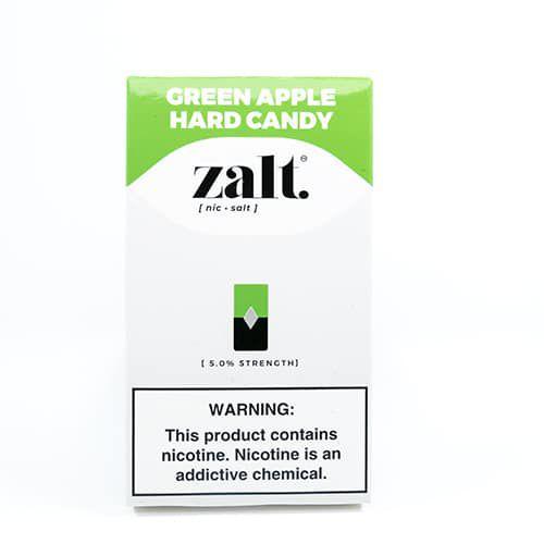 Pod c/ Líquido Green Apple Hardy Candy p/ Pod System Yoop & Juul - Zalt