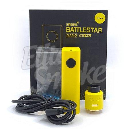 Kit Battlestar Nano 80W c/ Atomizador Battlestar RDA - Smoant