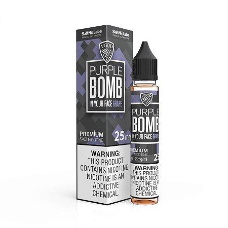 Líquido Purple Bomb - SaltNic / Salt Nicotine - Vgod