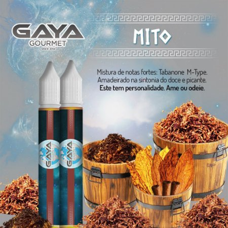 Liquido Mito (Tabaco) | GAYA Gourmet