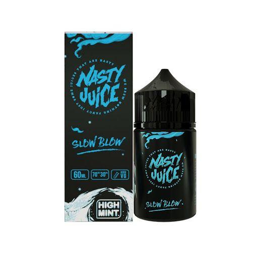 Líquido Slow Blow (High Mint Series) - Nasty Juice