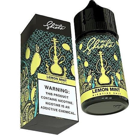 Líquido Lemon Mint (Shisha) - SaltNic / Salt Nicotine - Nasty Juice  - Vencimento: Fev/2022