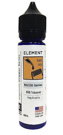 Liquido Element - Serie Dripper - 555 Tabacco