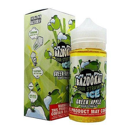 Líquido Green Apple Ice - SaltNic / Salt Nicotine - Bazooka!