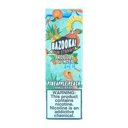 Líquido Pineapple Peach Ice (Tropical Thunder) - SaltNic / Salt Nicotine - Bazooka!