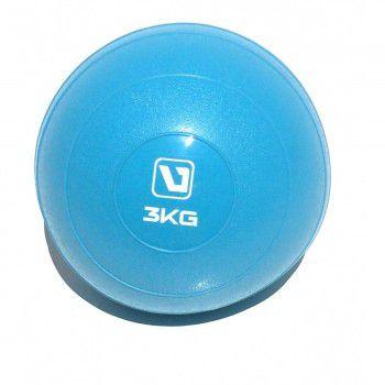 SOFT BALL - Mini Bola para Exercício 3kg Azul