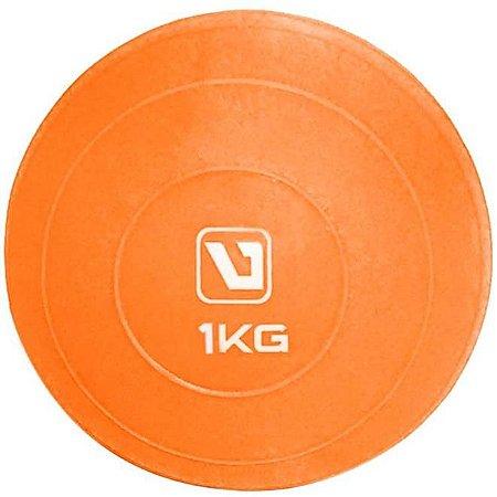 SOFT BALL - Mini Bola para Exercício  1KG LARANJA