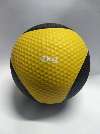 Medicine Ball  2kg Amarela