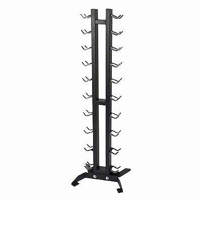 suporte para 10 pares de halter do 1 ao 10kg