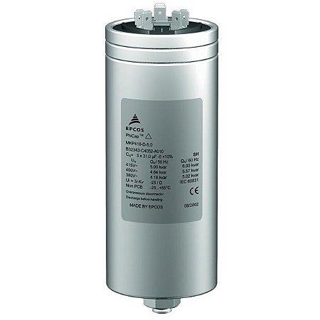 Capacitor Trifásico 5,0 KVAR X 440V X 60HZ MKP440-D4.2