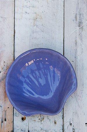 Prato Decorativo em Cerâmica - Concha Pequena