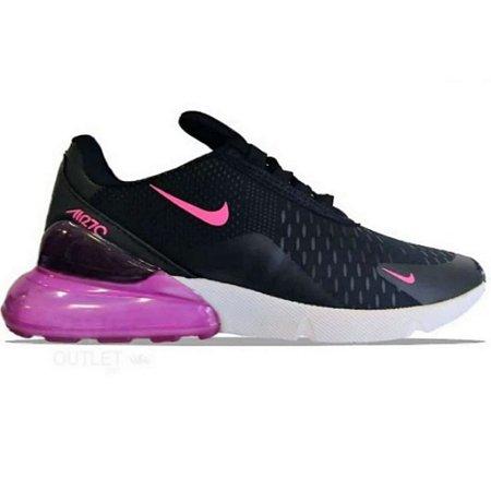air max 270 rosa e preto