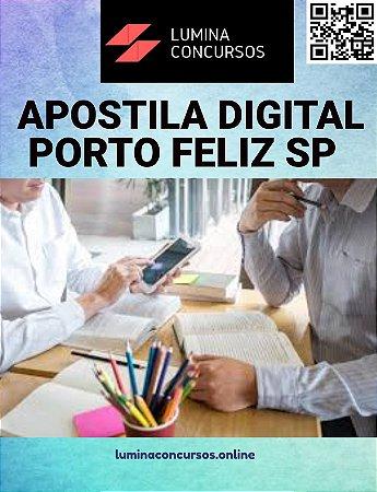 Apostila PREFEITURA DE PORTO FELIZ SP 2021 Professor Adjunto de Educação Básica II de Ciências