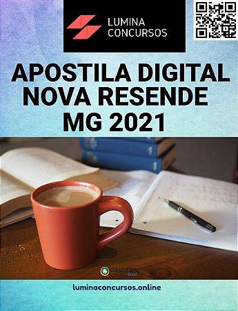 Apostila PREFEITURA DE NOVA RESENDE MG 2021 Enfermeiro PSF