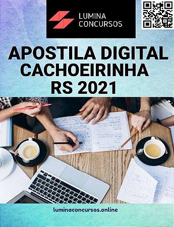 Apostila PREFEITURA DE CACHOEIRINHA RS 2021 Técnico em Segurança do Trabalho