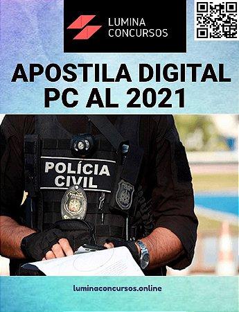 Apostila PC AL 2021 Agente de Polícia