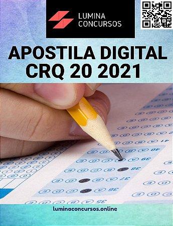 Apostila CRQ 20 2021 Agente Administrativo