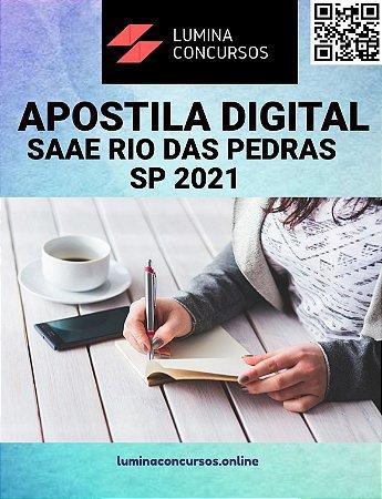 Apostila CÂMARA DE POTIM SP 2021 Agente Legislativo