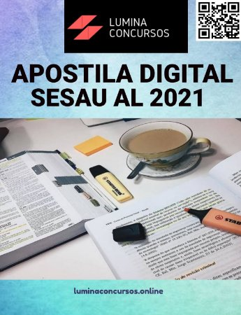 Apostila SESAU AL 2021 Psicólogo