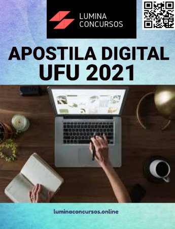 Apostila UFU 2021 Pedagogo