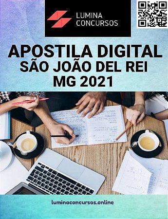 Apostila PREFEITURA DE SÃO JOÃO DEL REI MG 2021 Engenheiro Civil
