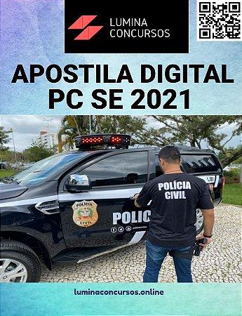 Apostila PC SE 2021 Escrivão de Polícia