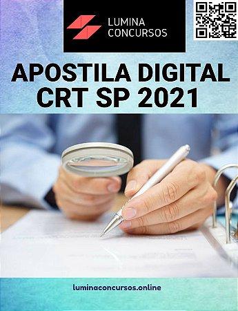 Apostila CRT SP 2021 Assistente Administrativo