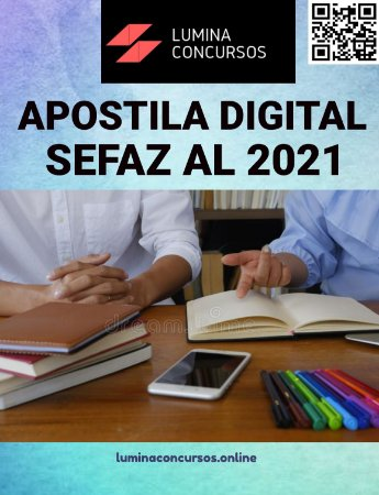 Apostila SEFAZ AL 2021 Auditor Fiscal da Receita Estadual