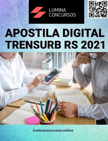 Apostila TRENSURB RS 2021 Economista