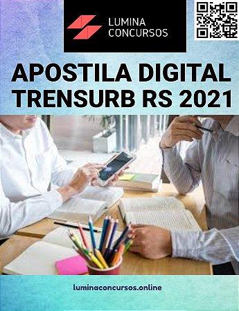 Apostila TRENSURB RS 2021 Técnico de Contabilidade