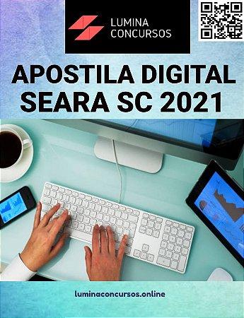 Apostila PREFEITURA DE SEARA SC 2021 Psicólogo