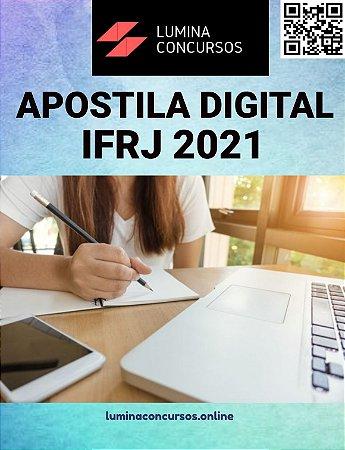 Apostila IFRJ 2021 Assistente em Administração e Assistente de Alunos