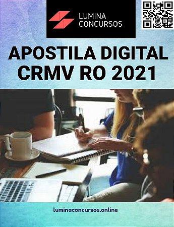 Apostila CRMV RO 2021 Auxiliar Administrativo