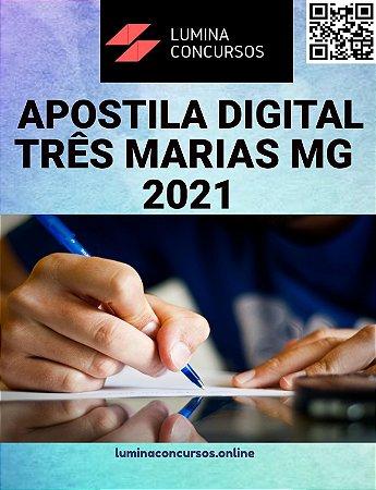 Apostila PREFEITURA DE TRÊS MARIAS MG 2021 Médico Veterinário