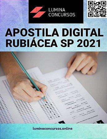 Apostila PREFEITURA DE RUBIÁCEA SP 2021 Fiscal de Tributos