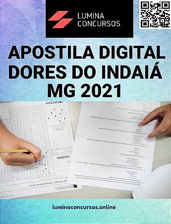 Apostila PREFEITURA DE DORES DO INDAIÁ MG 2021 Tesoureiro Municipal