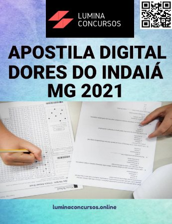 Apostila PREFEITURA DE DORES DO INDAIÁ MG 2021 Agente Fiscal