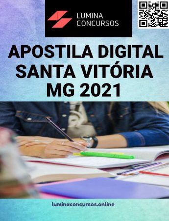 Apostila PREFEITURA DE SANTA VITÓRIA MG 2021 Zootecnista