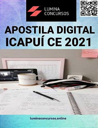 Apostila PREFEITURA DE ICAPUÍ CE 2021 PEB II Séries Inicias do Ensino Fundamental