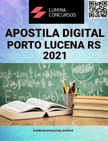 Apostila PREFEITURA DE PORTO LUCENA RS 2021 Professor de Matemática