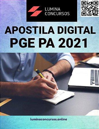 Apostila PGE PA 2021 Técnico de Procuradoria Matemática Estatística Economia