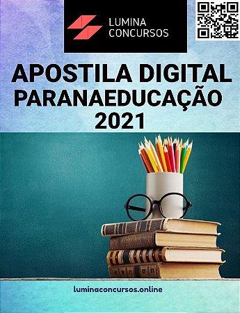 Apostila PARANAEDUCAÇÃO 2021 Arquiteto