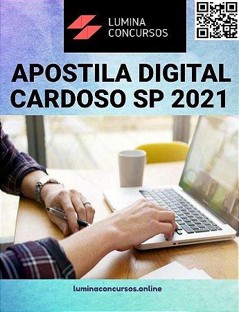 Apostila PREFEITURA DE CARDOSO SP 2021  Professor de Educação Básica II História