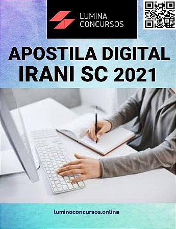 Apostila PREFEITURA DE IRANI SC 2021 Agente de Controle Interno