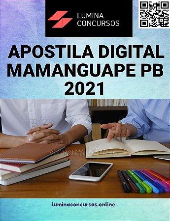 Apostila PREFEITURA DE MAMANGUAPE PB 2021 Procurador Municipal