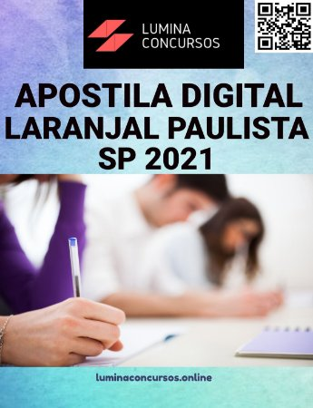 Apostila PREFEITURA DE LARANJAL PAULISTA SP 2021 Biomédico