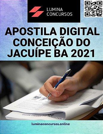 Apostila PREFEITURA DE CONCEIÇÃO DO JACUÍPE BA 2021 Assistente Social