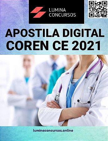 Apostila COREN CE 2021 Enfermeiro Fiscal